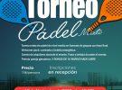 TORNEO MIXTO DE PÁDEL NIVEL MEDIO