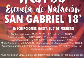 III TROFEO ESCUELA NATACIÓN NIÑ@S SG FEB-18