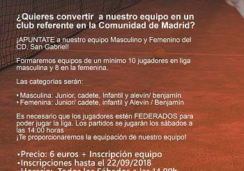 EQUIPOS COMPETICIÓN PARA MENORES (LFM)