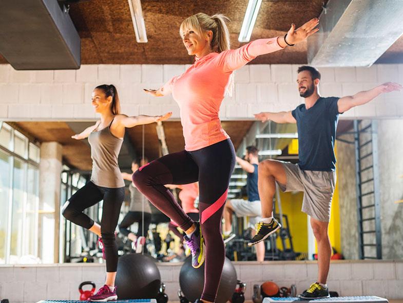 Clases de fitness colectivas para todas las edades y grupos reducidos