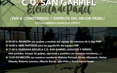 Jornada de puertas abiertas Escuela de Padel San Gabriel